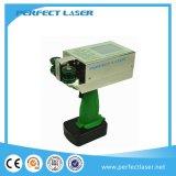 Machine van de Druk van Inkjet van de hoge snelheid de Handbediende voor Document van het Karton van het Metaal het Houten