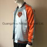 Fantastique Fashion tendance broderie Tiger veste en satin avec des boutons