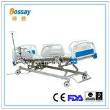 Cama elétrica elétrica ajustável Quatro funções Cama médica