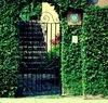 Antirrobo exterior puertas de acero inoxidable