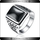 2015の上の販売925の純銀製のトルコのオットマンの人のリングの骨董品の銀メンズ指リングの宝石類の安い銀製の人のリング