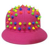 Gorras de béisbol calientes del Snapback de la venta con el cuero artificial SD01