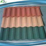 De nieuwe Tegel van het Dak van het Metaal van de Dakspaan van het Dakwerk van het Ontwerp Vlakke Steen Met een laag bedekte met Uitstekende kwaliteit
