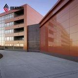 Les spectres Ideabond PE PVDF revêtement de finition en aluminium Panneau de façade composite