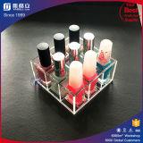 OEM acrylique en plastique rouge à lèvres de gros de présentoirs de sol