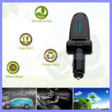 SoemWelcomed Negative Anion Release 5V 2.1A Multifunction Single USB Air Purifier Car Charger