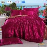 Bedline Gift Bed Queen 3/4PCS寝具の一定の羽毛布団カバー枕カバー王セット