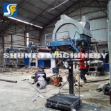 El molino inferior del papel higiénico del precio de fábrica de la inversión recicla la maquinaria de la producción