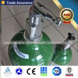 Fles van de Zuurstof van de Cilinder van de Zuurstof van het Aluminium van de fabrikant de In het groot M6 1L met Norm DOT3al