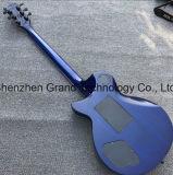 عادة [لب] [إلكتريك غيتر] في زرقاء ماهوغانيّ جسم عنق ([غلب-300])