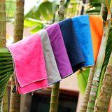 Поездки из микроволокна полотенце спорта полотенце с сетчатой сумки