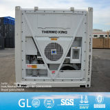 Wuhan Chongqing Lianyungang 초침 10FT 20FT 싼 가격에 40FT 사용된 냉동차 콘테이너