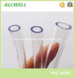 Boyau de niveau flexible transparent clair en plastique de conduite d'eau