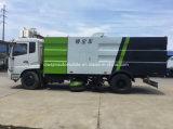 Dongfeng Vrachtwagen van de Veger van 8 M3 de Vacuüm voor het Schoonmaken van het Zand, van de Steen en van het Stof