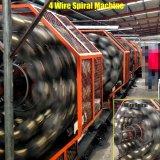 Stahldraht-umsponnener hydraulischer Schlauch