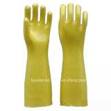 Длинные рукава ПВХ водонепроницаемые перчатки для очистки рыбы