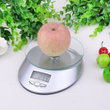 5kg Clock Function Digital Kitchen Nutrition Food Scale