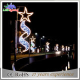 Im Freiendekoration-Licht des Weihnachtsgarten-Beleuchtung-Pole-Licht-LED