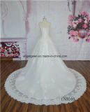 Стопор оболочки троса с кружевом последние свадебные платья
