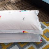 中国の製造業者によっては織布の敷布の羽毛布団カバーが家へ帰る