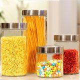 Винт Plastci Круглые плоские поверхности стекла продовольствия контейнер