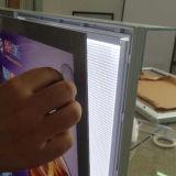 De magnetische Acryl Lichte LEIDENE van Resaurant van de Doos Raad van het Menu
