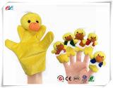 6PCS историю времени палец куклы - пять мало уток куклы в области образования