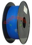 Bien enrollado, PLA azul de 3,0 mm de filamento de impresión 3D