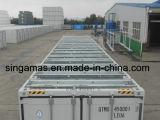 ISO-Zugelassene nagelneue 45 Füße hohe Würfel-Ladeplatten-breite Versandbehälter-für Erdgas-Sammelbehälter