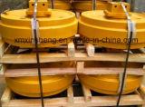 Renvoi d'avant de fournisseur de la Chine/renvoi arrière avec le dispositif Kubota de tension 15 pièces de rechange de train d'atterrissage de bouteur d'excavatrice de machines de construction