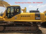 Máquina escavadora usada da esteira rolante de KOMATSU PC350-7 para a venda!