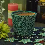 Vaso di ceramica decorativo della candela