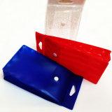Boîte de présentation en plastique claire personnalisée de PVC avec le bouton
