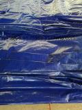 Folha azul Finished de encerado do PE, tampa de encerado