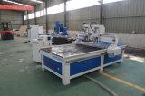 Hölzerne Gravierfräsmaschine CNC-Fräser-Holzbearbeitung, die CNC-Fräser aufbereitet