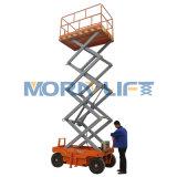 Il Mobile elettrico della piattaforma di lavoro aereo di Morn Scissor l'elevatore