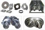 Lega di alluminio che schiaccia la trinciatrice tagliuzzata dell'asta cilindrica del doppio della macchina