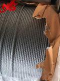 직류 전기를 통한 항공기 철강선 밧줄 케이블 7X19