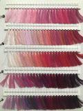 Los colores de la máquina opcional hilo textil de poliéster 100% hilo de bordar 75D/2