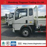 6 Wheels Sinotruk HOWO Mini Cargo liner Dirty Truck 91HP for