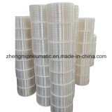 100% nouveau matériau flexible en plastique transparent pour pièces automobiles (12 * 8mm * 100m)