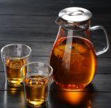 Восьмиугольника/болты с шестигранной головкой боросиликатного стекла чашки вино стекла двойные стенки для приготовления чая и наружное кольцо подшипника