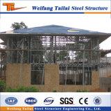 En Afrique du sud de la Structure légère en acier préfabriqué de Construction maison