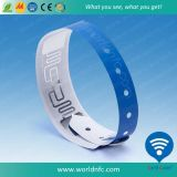 Wristbands ultraligeros disponibles del PVC C de RFID