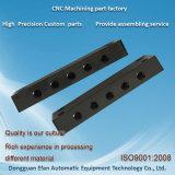 CNCジョブ店の黒の終わりの精密機械化の製粉の鋼鉄部品