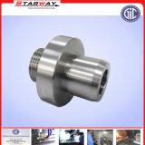 Kundenspezifischer CNC-Präzisions-rostfreier Schweißens-Stutzen-Stahlmetallverbindungs-Platten-Beleg auf Flansch (Vorhang, Spule, Legierung)