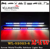 Красное White Амбер СИД Arrow Stick Warning Directional Light для Police