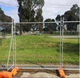 波カッコが付いているオーストラリアの溶接された網の一時に囲うか、または一時塀のパネル