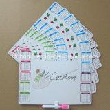 Magnete di carta del frigorifero del frigorifero stampato abitudine per la promozione