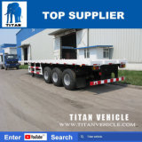 대륙간 탄도탄 3 차축 Jost 지원 다리를 가진 평상형 트레일러 트럭 트레일러